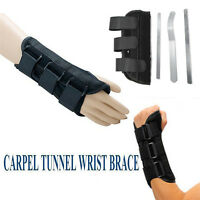 Wrist Splint Brace Protection Support Strap Carpel Tunnel Pain Relief CTS RSI KP