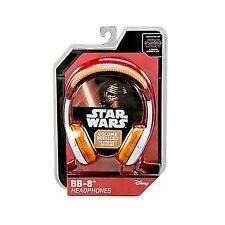 NEW OFFICIAL Disney eKids Star Wars Force Awakens BB-8 Headphones BB8 iHome kids