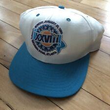 Vintage Super Bowl XXVII 1994 Dallas Cowboys vs Bills New Era Snapback Hat  Cap b1ad294f9