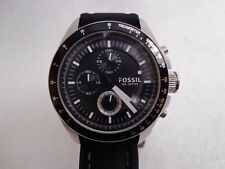 Fossil  Men's Chronograph Bracelet Strap Watch CH2573