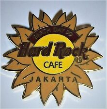 Hard Rock Cafe Jakarta Earth Day Sunflower 1999 Pin 500