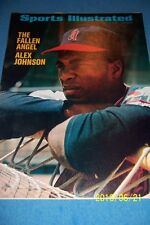 1971 Sports Illustrated CALIFORNIA Angels ALEX JOHNSON No Label THE FALLEN ANGEL