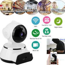 720P HD wireless WIFI IP CAMERA CASA NEGOZIO Rete di Sicurezza CCTV IR Visione Notturna