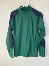 Under Armour Adult Baselayer Fitted Green Large Long Sleeve Shirt