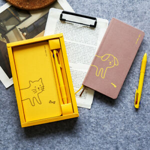 Weekly Plan Cat and Dog Theme Hobonichi Style Traveler's Notebook Planner