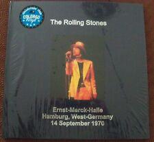 "ROLLING STONES ""ERNST-MERCK-HALLE HAMBURG 1970"" 2LP BOX SET LEATHER ED N.77/145"