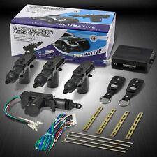 Universal Car Auto Anti-Theft Central Door Lock System + 2 Keyless Entry Kit NEW