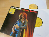 2 LP Neil Diamond Hot August Night Vinyl UNI Records MAPS 6385-D/1-2