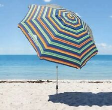 *NEW* 2020 TOMMY BAHAMA Rainbow Beach Umbrella With Carry Bag 8 Ft