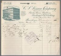 [64059] 1903 C.S. SISSON COMPANY BOOTS, SHOES & RUBBERS PROVIDENCE, R.I. INVOICE