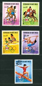 UPPER VOLTA 1976 - Olympic Games - Montreal, Canada - USED
