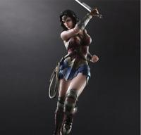 "10""DC Wonder Woman Play Arts figure Action Figure Toy Model USA SELLER"