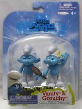 2011 JAKKS Smurfs Figures Packs - Vanity & Grouchy Smurf (Grab 'Ems, 2-Pack)