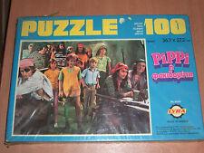 "VINTAGE 1979 GREEK LYRA PIPI LONGSTOCKING 100 PCS JIGSAW PUZZLE 14.4""x10.7"" MIB"