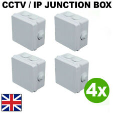 IP55 Terminal box for connection 4 x CCTV Junction Box Outdoor Weatherproof IP