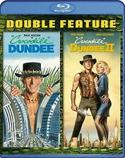 CROCODILE DUNDEE 1 & 2 BLU RAY 2 DISC SET PAUL HOGAN NEW & SEALED!