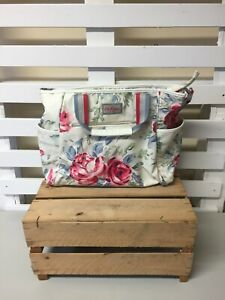 Cath Kidston Oil Cloth Rose Floral Large Changing Bag