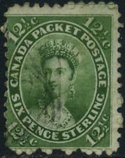 Brit. Kolonie 1859 Freimarke, MiNr 14, gestempelt used