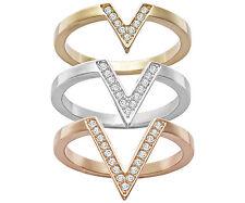 Swarovski  Delta  Ring set    Size 55   5140847  New