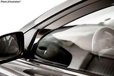 Déflecteurs de vent pluie d'air pour Peugeot 206 5 portes 1998-2012 2 pcs Heko