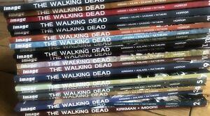 THE WALKING DEAD--VOLUMES 1-25 Image Comics GREAT CONDITION PICK DROPDOWN BOX