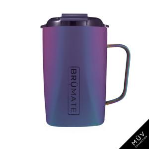 BRUMATE TODDY Mug 16 oz Leak proof Locking Lid hot or cool - DARK AURA