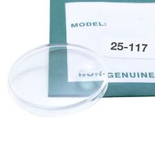 Swiss Made Plastic Plexi Watch Crystal for Rolex Watches 25-117 fits 6646 & More