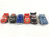Lot of 6 Lightning McQueen Disney Pixar Cars Toy Vehicles 5 Diecast & 1 Plastic