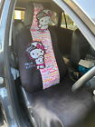 Hello Kitty Car Full Car Seat Cover Head Rest For 1 Seat 2pcs Set Street