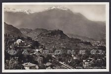 TORINO MEANA DI SUSA 05 INTERNO STAZIONE Cartolina FOTOGRAFICA viaggiata 1938