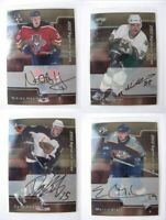 2001-02 BaP Signature Be a Player #226 Heatley Dany  autograph  trashers