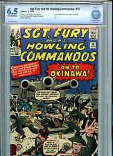 Sgt. Fury and His Howling Commandos #10 Silver Age Marvel Comics CBCS  6.5