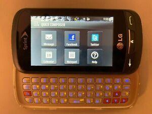 LG Rumor Reflex S LN272S - (Sprint) Slide Phone, Titan Gray