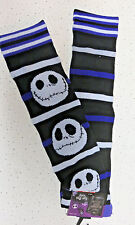 Disney Jack Skellington Knee High Socks Nightmare Before Christmas New Halloween