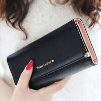Damen Geldbörse Portemonnaie Geldbeutel Portmonee Lang Brieftasche Mode.TOP