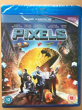 Adam Sandler Kevin James Pixels 2015 Alien Invasion Sci-Fi Comedy UK Blu-ray