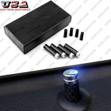 4pcs Luxur Carbon Fiber Door Lock Pins Knob for BMW 1 3 5 7 Series X1 X3 X4 X5