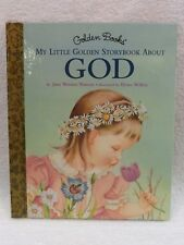 NEW VINTAGE My Little Golden Storybook About GOD 1ST EDITION Storybook 1997 NEW