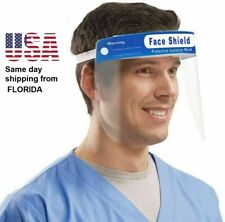 Plastic Face Shield $2 USA STOCK FAST same day shipping from USA Stock