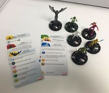 Marvel HeroClix- Guardians of the Galaxy & Kree LOT of 6 HX50