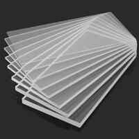 Clear Acrylic Sheet Plastic Panel Cut Multi Size 2/3/4/5/6/8/10mm Thick