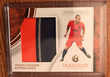 2017 Immaculate Wesley Sneijder 3 color Patch 19/25 Netherlands