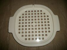 Rubbermaid Microwave Cookware Stack Cooker Roasting Rack/Strainer Only #5155