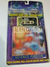 Vintage 1997 Digital Sound Theater - Alien Contact Science Fiction Book & Tape