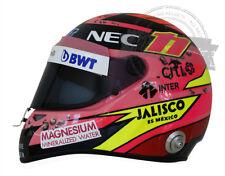"""Sergio """"Checo"""" Perez 2017 Pink Formula 1 F1 Replica Helmet Full Scale 1:1 Casco"""