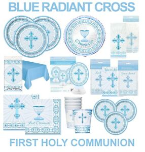 FIRST HOLY COMMUNION / CONFIRMATION / CHRISTENING PARTY  TABLE DECORATIONS CROSS