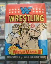 (1) 1987 OPC O-pee-chee lucha libre ganó sin abrir Trading Cards cera Pack