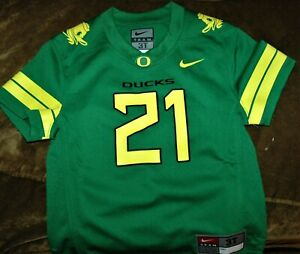 Oregon Ducks jersey YOUTH 3T NEW with tags NCAA green #21 La Michael James