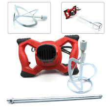 New Listing1500w 110v Electric Plaster Mortar Paint Cement Grout Mix Stirrer Paddle Mixer