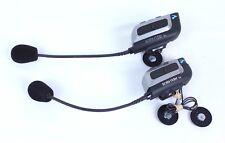 Cardo Scala Rider G4 Solo Motorcycle Bluetooth Intercom Power Set (2) Set Black